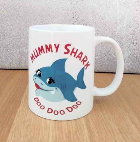 Mummy Shark Mug