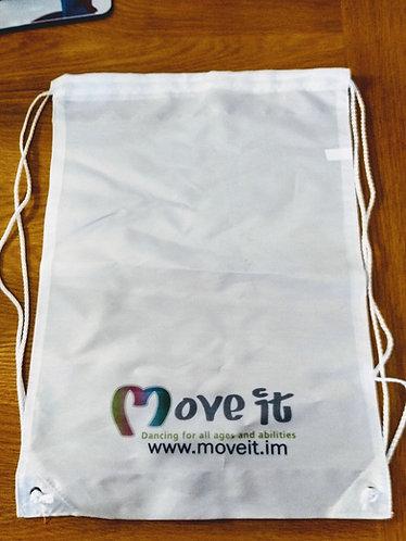 Move it Drawstring Gym Bag