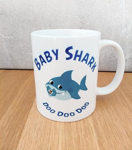 Baby Boy Shark Mug