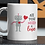 Thumbnail: Personalised Mug - All You Need Is Love Robot