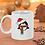 Thumbnail: Penguin with Santa Hat 11oz Christmas Mug