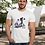 Thumbnail: Personalised Cheer Dad With Dad in the Tail White T Shirt