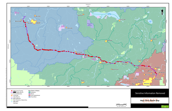 Major River Basins Map