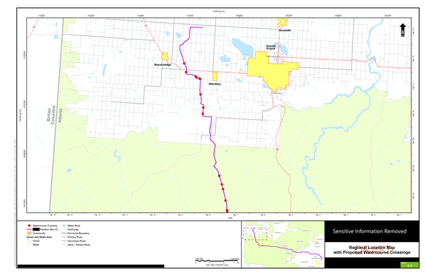 Proposed Watercourse Crossing