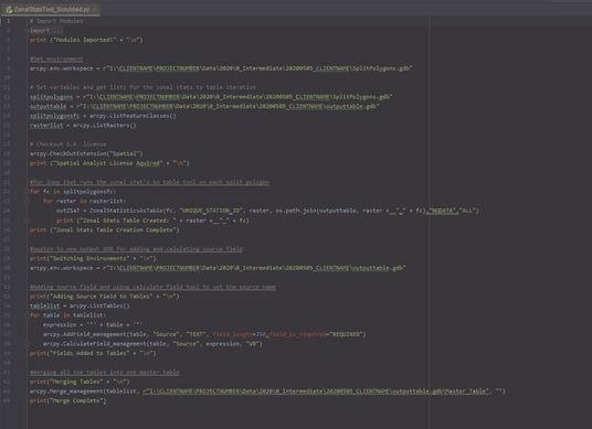Python Script Snippet