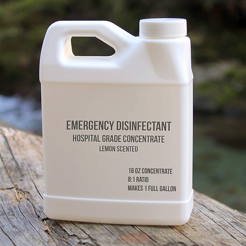 Hospital Grade Disinfectant 16 oz (makes 1 whole - 2 gallons)