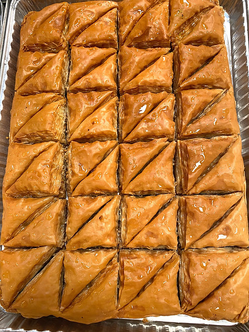 Dates-Walnut Baklava Tray