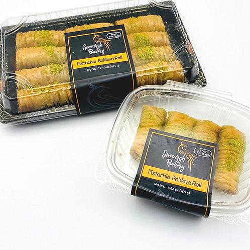 Pistachio Baklava Roll
