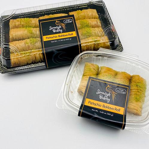 Pistachio Baklava Roll (2 packs)