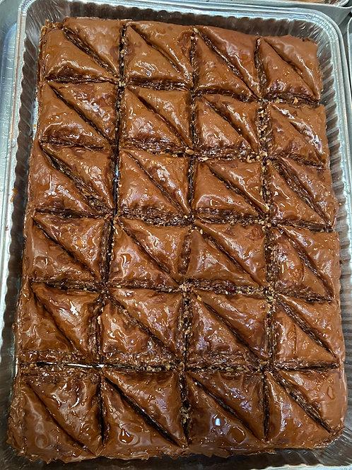 Chocolate Baklava Tray