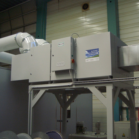 ME-CO mit kompletter Maschineneinhausung