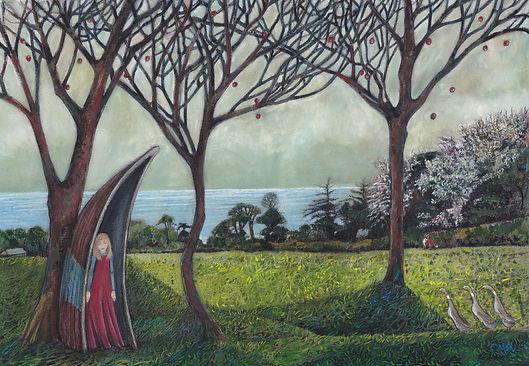 1.'Shelter' Catherine Patrickson, 54 x44