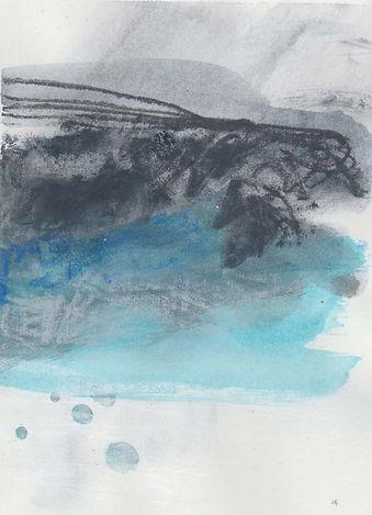 Leah Beggs 2019 - Acrylic on Paper - 13.5 x 18cm - STUDY 101.jpg