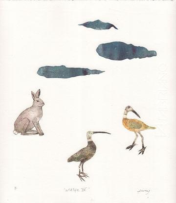 Kathleen Furey, Wildlife 4, 21.5 x 25 cm Mixed media print .jpeg
