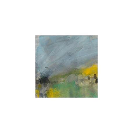 Leah Beggs 2021 - Acrylic on Paper-  14 x 14 cm - GORSE I .jpg