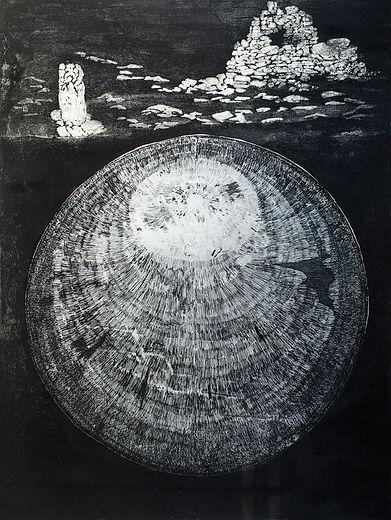 Mystery Sphere, High Island 58x44.jpg