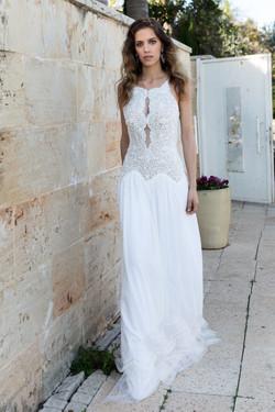 שמלת כלה מדגם פזלי - Pezly