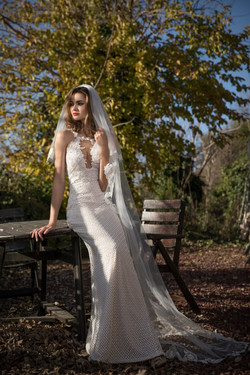 Violet- wedding dress