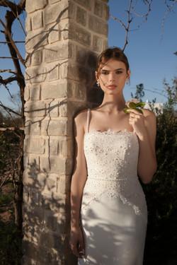 Lila wedding dress