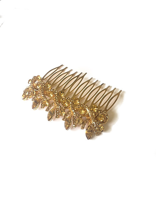 Diana Hair Slide -Gold