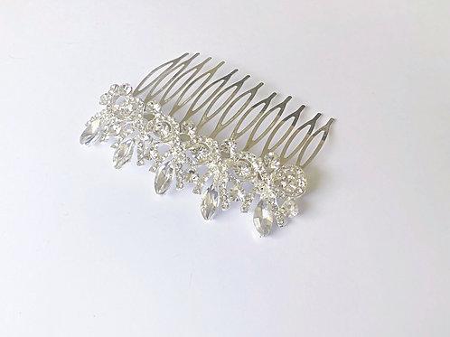 Diana Hair Slide - Silver