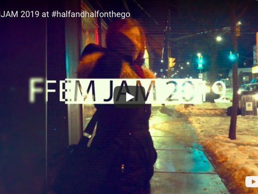 #halfandhalfonthego at FEMJAM2019