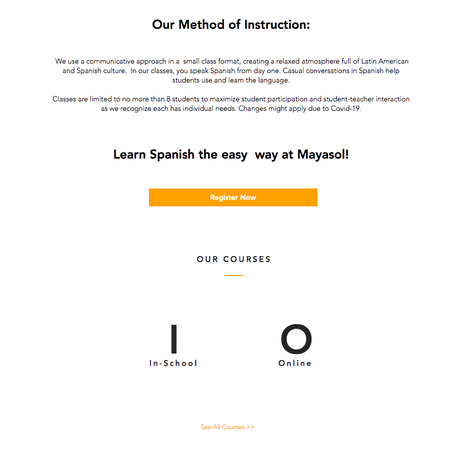 Mayasol Spanish Language