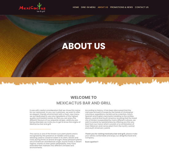 Mexicactus Grill & Bar