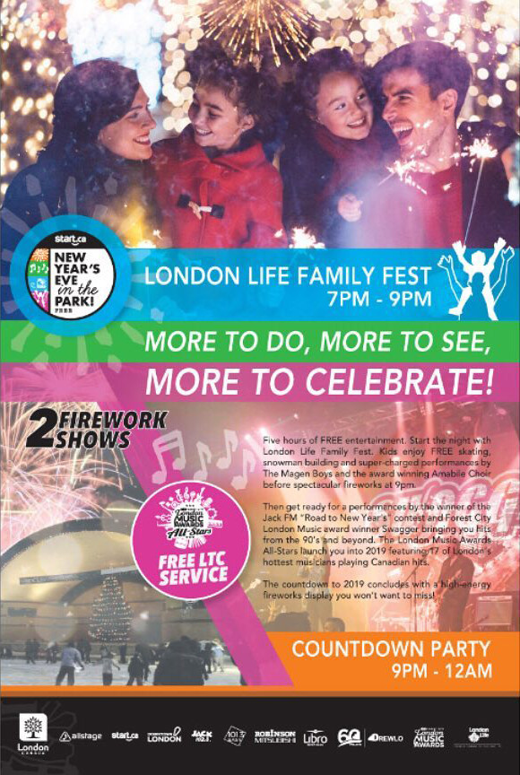 New Year's Eve At The Park - Promotional Material