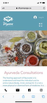 Dhyana Yoga Ayurveda