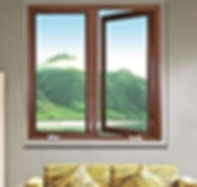 Casement Windows, Crank out Windows