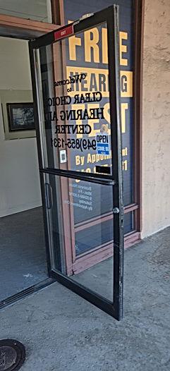 Commercial Storefront Door Replacement 1