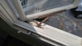 Casement window rusted operator