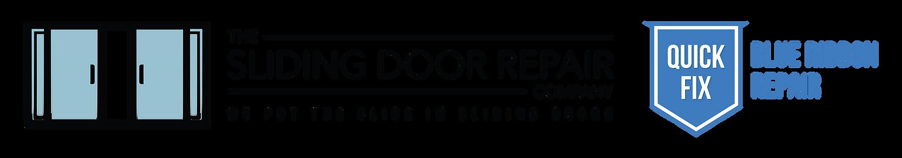 The Sliding Door Repair Company Logo Quick Fix Logo
