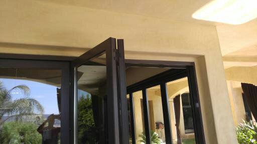 Bi fold door repair