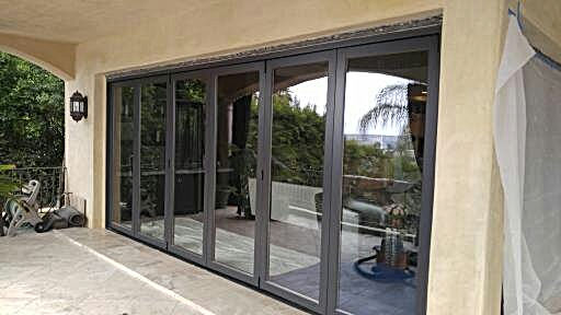 Multi slide bifold door repair