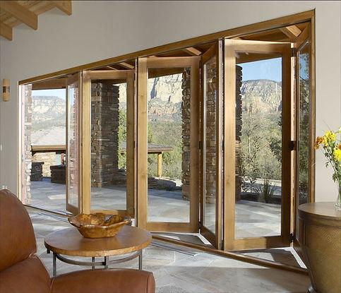 Pella BiFold Wood Door.JPG