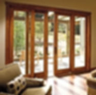Dual French Sliding Glass Door