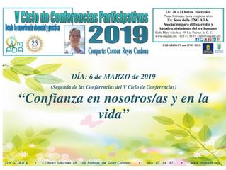 Segunda Conferencia del Ciclo de Conferencias de Carmen Reyes