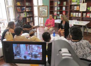 Tras la presentación del último libro de Carmen Reyes en Santa Cruz de Tenerife...