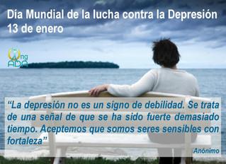 El miércoles 13 de enero es el Día Mundial de la Depresión.