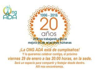 20 ANIVERSARIO de ADA