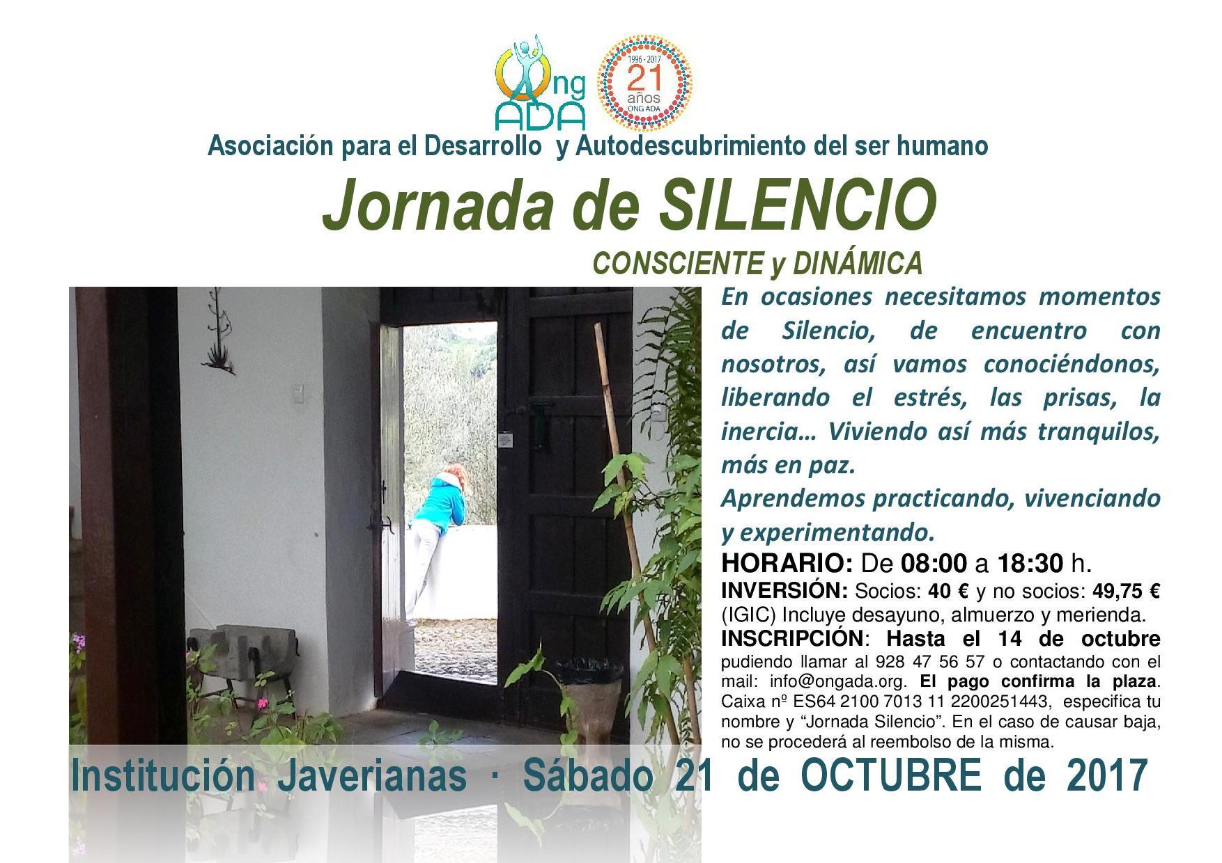 Jornada de Silencio octubre 2017.RED