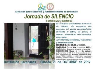 Jornada de Silencio 21 de octubre