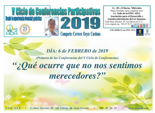 Primera Conferencia del V Ciclo de Conferencias Participativas de Carmen Reyes