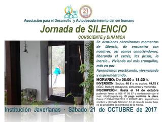 Próxima Jornada de Silencio · 21 de octubre