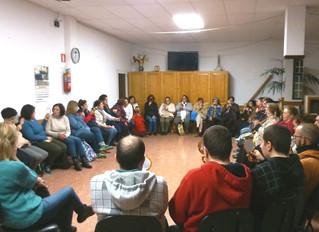 Taller celebrado en Valleseco...
