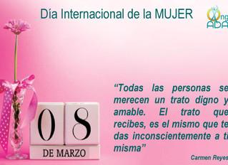 Día de la Mujer · 8 de marzo