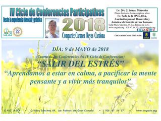 Nueva conferencia del IV Ciclo de Conferencias Participativas