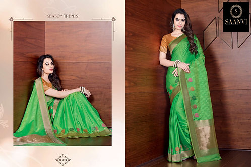 ROSE SILK BANARASI SAREE 11009